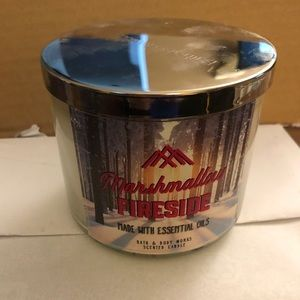 Other - Marshmallow Fireside Candle